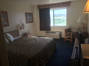 Our budget hotel in Arizona. $60 per night.