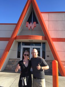 Our first stop: Whataburger