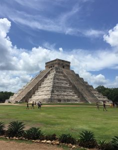 We got a taxi collective to Chichen Itza for only $1.60USD a person! I'm sure guided tour buses are WAY more.