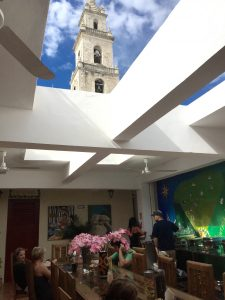 The best hostel we've ever stayed in was in the city center of Merida called Hostal Catedral. I could go on and on about it!
