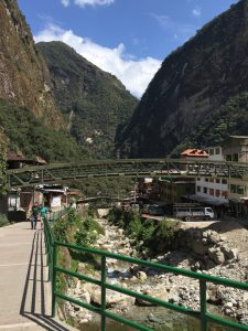 Aguas Calientes- the tourist town at the base of Machu Picchu